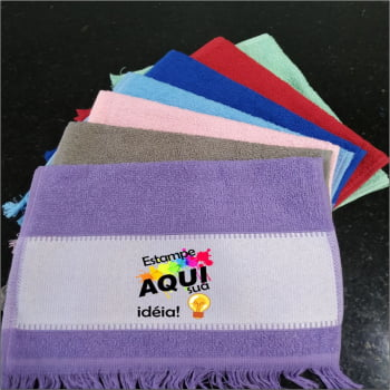 Toalhas Lavabinho Personalizada